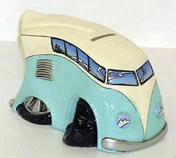 Boy Racer VW Camper Novelty Money Box