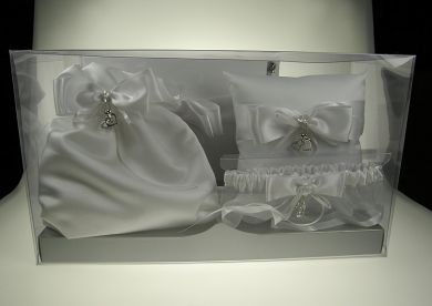 Sweethearts Four Piece Bridal Gift Set.